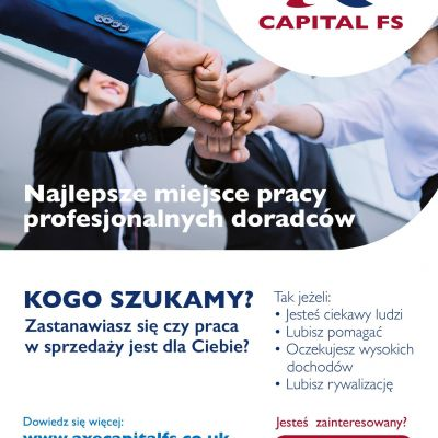 Axe Capital FS Ltd Rekrutuje!
